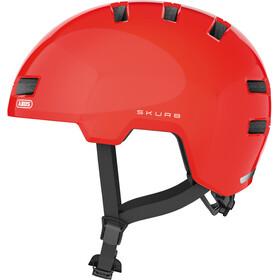 ABUS Skurb Helm orange